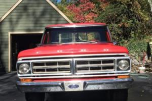 1971 Ford F-100 Photo