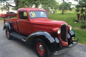 1938 Dodge Other Pickups single cab pickup