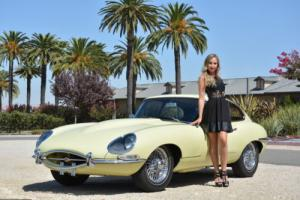 1966 Jaguar E-Type XKE 4.2 LITER FIXED-HEAD COUPE
