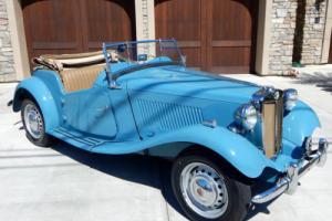 1951 MG T-Series Restored TD Midget 2-Door Roadster