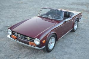1969 Triumph TR-6 Early TR6 with OVERDRIVE