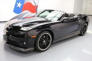 2011 Chevrolet Camaro 2SS RS CONVERTIBLE HTD SEATS HUD