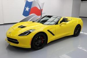 2014 Chevrolet Corvette STINGRAY 3LT Z51 CONVERTIBLE