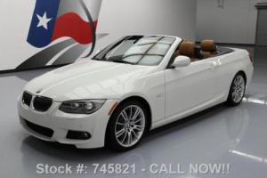 2012 BMW 3-Series 335I CONVERTIBLE M SPORT HTD SEATS NAV