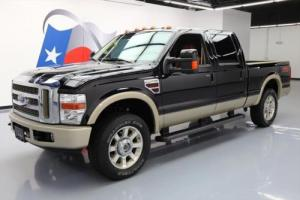 2008 Ford F-250 KING RANCH CREW 4X4 6.4L DIESEL