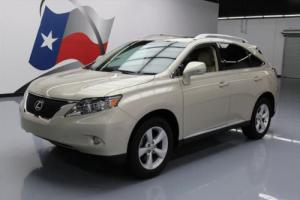 2011 Lexus RX LEATHER SUNROOF POWER LIFTGATE