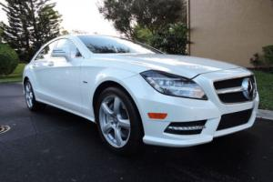 2012 Mercedes-Benz CLS-Class 4dr Coupe CLS550 4MATIC Photo