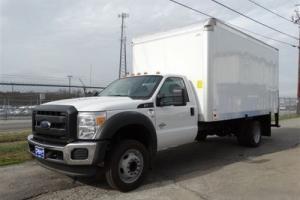 2016 Ford F-550 16 Foot Box Truck w Rollup Door