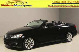 2010 Lexus IS 2010 IS250C CONVERTIBLE NAV LEATHER XENONS 75K MLS
