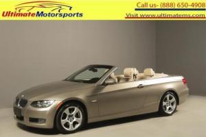 "2008 BMW 3-Series 2008 328i CONVERTIBLE HEATSEATS 17""LEATHER 79K MLS"