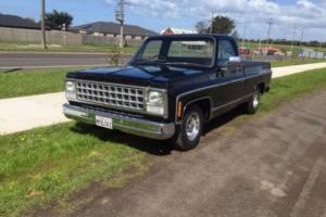 1980 Chev c10 custom deluxe fleet side 454 big block