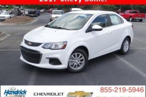 2017 Chevrolet Sonic 4dr Sedan Automatic LT