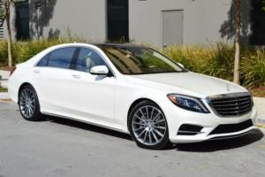 2016 Mercedes-Benz S-Class 4dr Sedan S550 RWD
