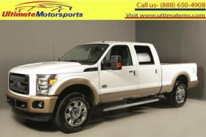 2012 Ford F-250 2012 F-250 KING RANCH 4X4 DIESEL CREW SHORTBED 43K