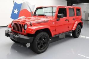 2015 Jeep Wrangler UNLTD SAHARA 4X4 HARD TOP AUTO