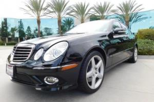 2009 Mercedes-Benz E-Class Luxury 3.5L