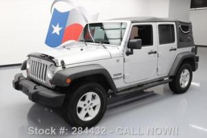 2012 Jeep Wrangler UNLTD SPORT 4X4 SOFT TOP 6-SPD