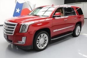 2015 Cadillac Escalade PLATINUM 4X4 SUNROOF NAV DVD HUD