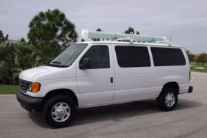 2005 Ford E-Series Van Cargo Van FL State Fleet Photo