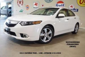 2013 Acura TSX Tech Pkg SUNROOF,NAV,BACK-UP,HTD LTH,14K,WE FINANCE