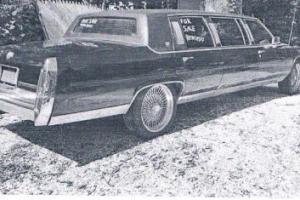 1987 Cadillac Brougham Limo