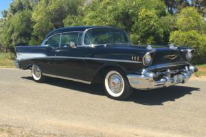 1957 CHEVROLET BELAIR 2 DOOR HARD TOP SPORTS COUPE SUIT 55 56 CHEV BUYER GTS