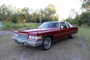 1975 Cadillac DeVille 500 2 Door 77+ Pics (Video Inside) FREE SHIPPING