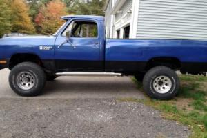 1987 Dodge Other Pickups W250