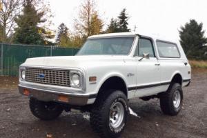 1972 Chevrolet Blazer BARN FIND 4WD LIFTED OFF-ROAD RESTORED