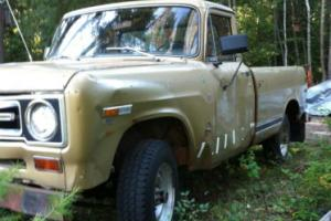 1969 International Harvester Pickup heavy Load HD 1200D 4X4 V-8 1200D