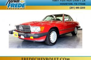 1989 Mercedes-Benz 560 2dr Coupe 560SL Roadster