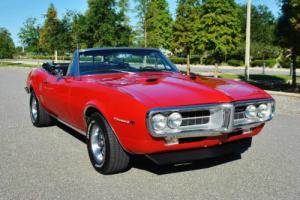 1967 Pontiac Firebird 400 Convertible Simply Beautiful Classic Muscle!