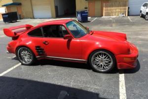 1986 Porsche 911 Carrera coupe widebody