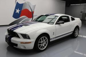 2008 Ford Mustang SHELBY GT500 SUPERCHARGED LEATHER