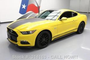 2015 Ford Mustang GT PERFORMANCE 5.0 REAR CAM 19'S