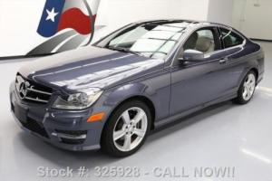 2014 Mercedes-Benz C-Class C250 COUPE P1 PANO SUNROOF NAV Photo