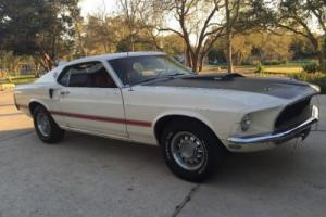 FORD MUSTANG.MACH 1,1969,M CODE 351,AUTO,PWR STR,PWR DISC BRAKES,ENGINE REBUILT,