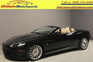 "2007 Aston Martin DB9 2007 VOLANTE NAV LEATHER 19"" V12 PDC CONVERTIBLE"