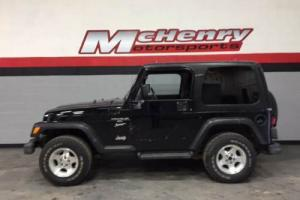 2001 Jeep Wrangler Sport 4WD 2dr SUV Photo