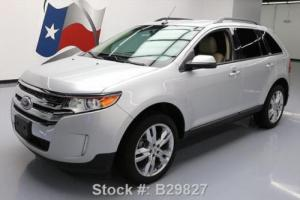 """2013 Ford Edge SEL HTD LEATHER REAR CAM 20"""" WHEELS"""