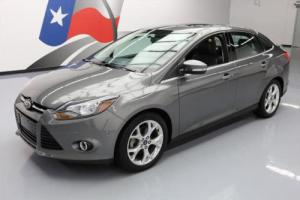 2013 Ford Focus TITANIUM SUNROOF NAV REAR CAM