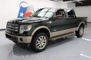 2013 Ford F-150 KING RANCH 4X4 ECOBOOST SUNROOF NAV