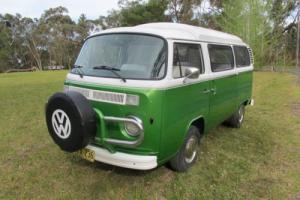 VW VOLKSWAGEN KOMBI POPTOP CAMPERVAN 1973