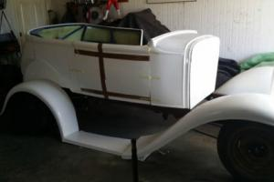Unfinished Project - 1931 Model A 2 Door Tourer