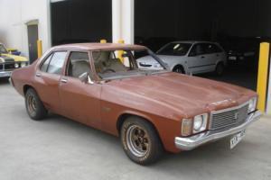 05/1975 Holden HJ SEDAN, Factory 253V8, T-Bar Trimatic Auto