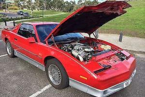 1985 PONTIAC TRANS AM   GTO 350 SuperCharged RHD, RWC, REG