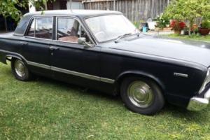chrysler valiant vc sedan needs restoration drives well. NO RESERVE AUCTION