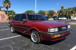 1985 Audi 4000 Quattro (Marketed as an Audi 90 in Europe)