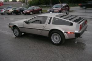 1981 DeLorean DMC-12 REAR ENGINE