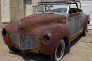 1940 DeSoto Restomod Potential With Hemi Or Restore To Orig. Photo